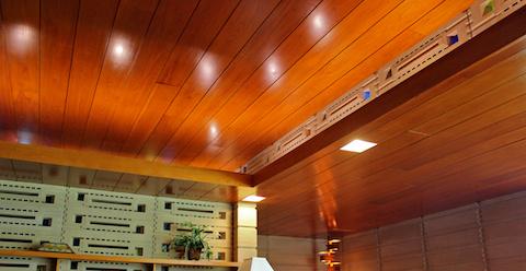 contemporary serene sun house