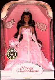 Princesa Quinceanera Doll Pink Dress